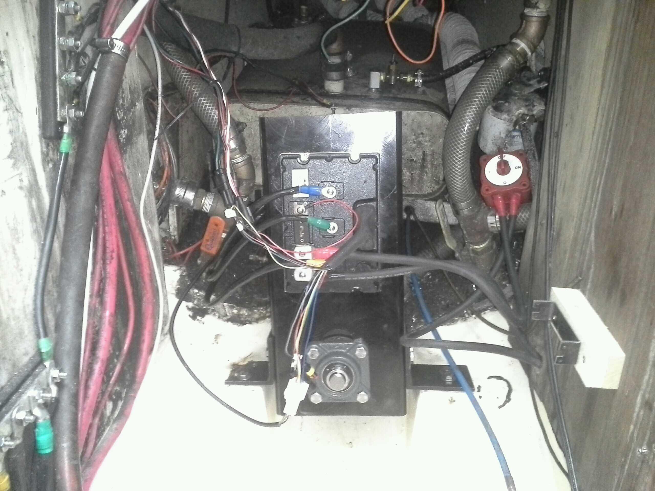 installed motor